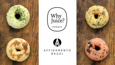 9月10日(土)・11日(日) 「Why Juice?」とのコラボベーグル「Veggie Bagel」をFarmer's Market @ UNUにて先行販売