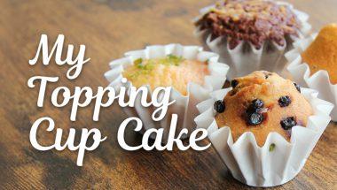 1月28日(日)親子でつくるマイトッピングカップケーキ