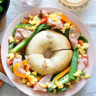 ラムレーズンベーグルサラダ 画像2