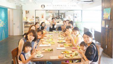 野菜ソムリエCanacoさんと学ぶ・夏野菜のベーグルサンドウィッチづくり 開催しました!