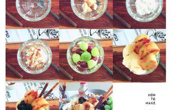 カリッとふわっと。2つの食感を楽しむベーグルパフェ