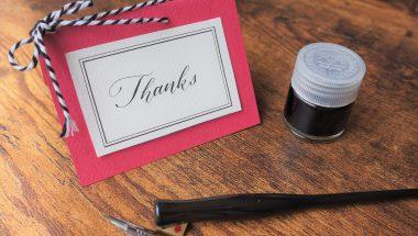 9月28日(木) はじめてのモダンカリグラフィー Thanksカードをつくろう! 開催