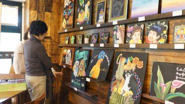 UCARI WORKS『チョークアート展』開催いたしました!