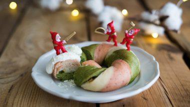 クリスマスベーグル ホワイトチョコディップ添え