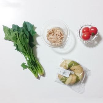 ほうれん草とトマトのベーグルサンドウィッチ |  ベーグルレシピ 画像3