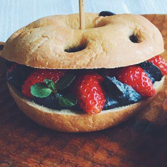 イチゴ & 豆腐の和風デザートサンドウィッチ 画像3