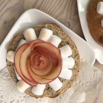 マシュマロと林檎でアレンジ 〈ミルクティーホワイトチョコレート〉 画像1