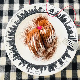 ガトーショコラ風 ベーグルケーキ 画像1