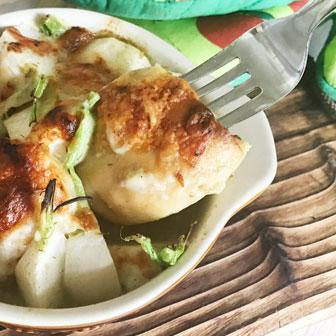 〈ゴーダチーズクミンシード〉と春かぶの グリーンカレーチーズ焼き 画像2