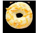 ココナッツホワイトチョコレート -オレンジピール-