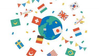 7月31日(火)自由研究サポート!国旗で色育#自分だけの国旗をつくろう