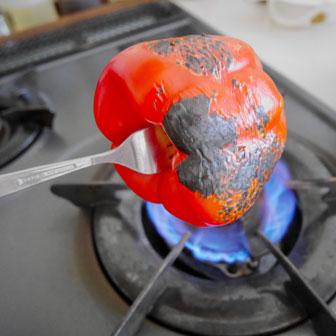 焼きパプリカマリネの夏サンドウィッチ  |  ベーグルレシピ 画像2