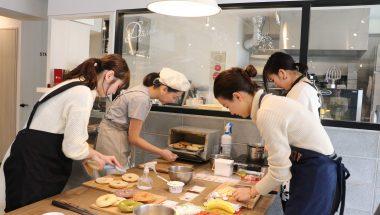 レシピ試作しました!桜美林大学 五十嵐ゼミナール×AFFIDAMENTO BAGELコラボ企画