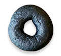 ソイプロテインベーグル bib-麻炭