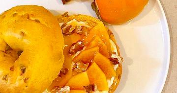 柿×COYOGUL でGourmet&Healthyに  |  ベーグルレシピ