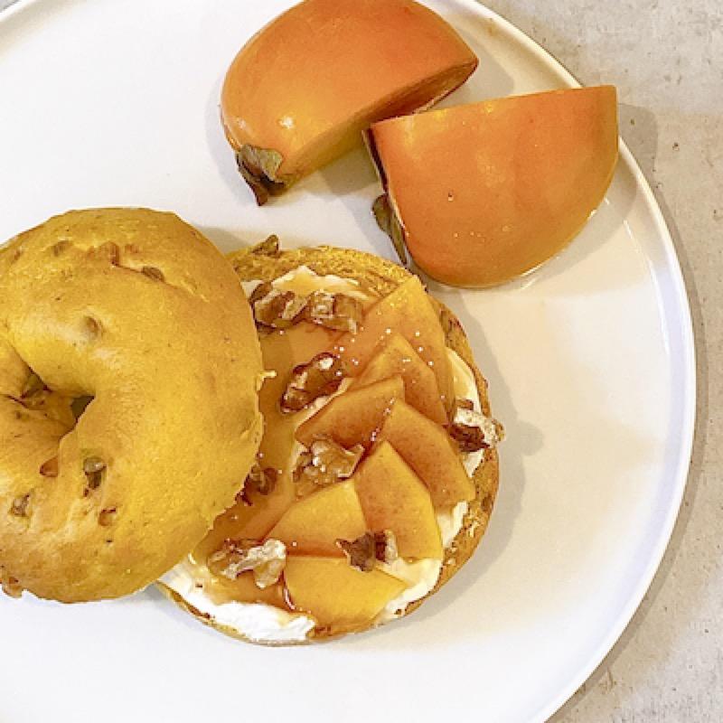 柿×COYOGUL でGourmet&Healthyに  |  ベーグルレシピ 画像1